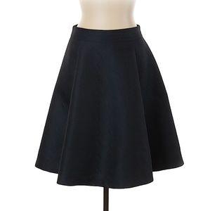 Reiss Blue pleated circle Skirt